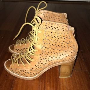 Jeffrey Campbell Cors Cutout Flower Booties